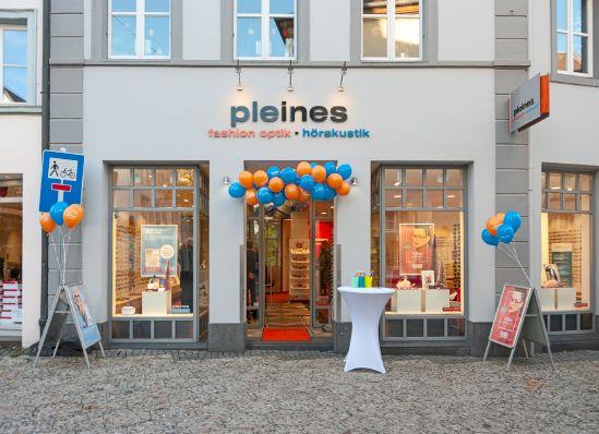 Pleines Fashion Optik- wird von Brillen Rottler übernommen