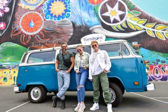 Transitions - Street-Art-Tour - Influencer Felix - Giulia - Erik