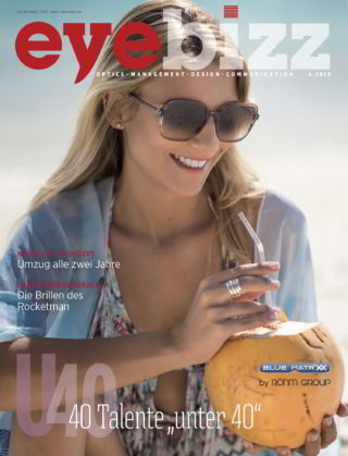 Titelseite eyebizz Ausgabe 4.2019