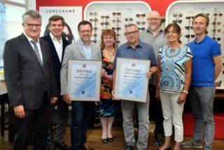 WVAO - Auszeichnung Spezialist Gleitsicht - Link Optik Buehl