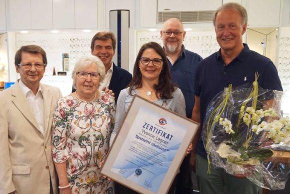 WVAO - neue Spezialistin Gleitsicht + Yvonne Legner