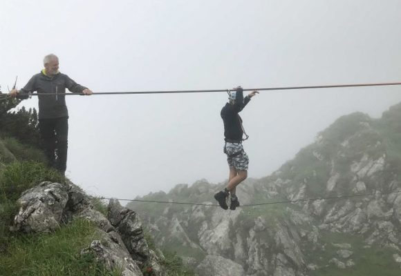 Brillen-Profi - Azubi Gipfeltreffen 2019 - Seiltanz