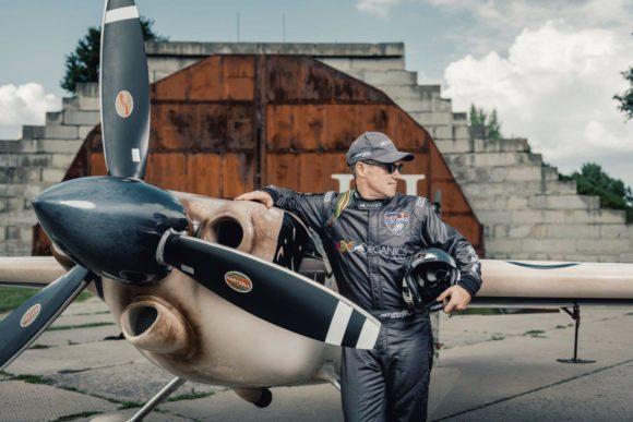 Air Race Pilot Matt Hall