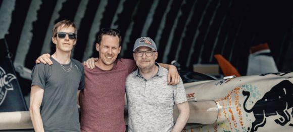 Jaromir Ufer, Johannes Dillinger und Markus M. Moser, die Gründer von Kerl Eyewear