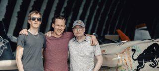 Johannes Dillinger, Jaromir Ufer und Markus M. Moser die Gründer von Kerl Eyewear