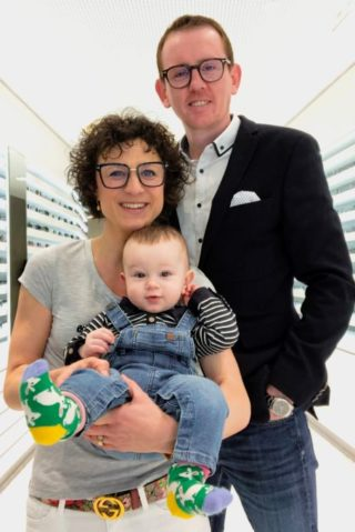 Philip Reuter mit Familie