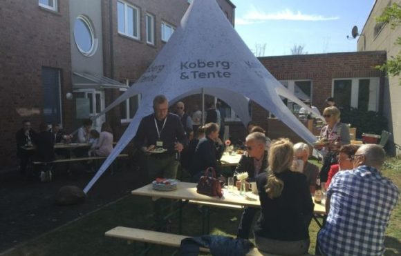 Koberg & Tente - Hausmesse 2019 - Am Buffet