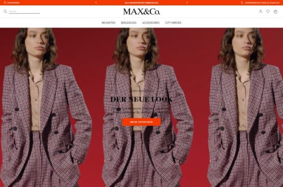 Max&Co. - website - Eyewear ab 2020 bei Marcolin Group