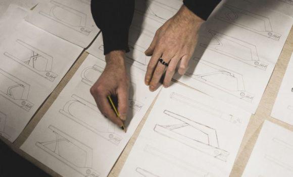 Iddo Zimmermann - Zeichnung für ein Werkzeug bei Annu