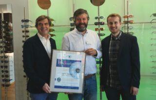 WVAO - 10 Jahre Gütesiegel Sehzentrum bei Optik Meyer