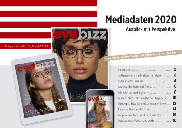Mediadaten 2020 hier downloaden
