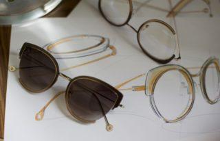 Brillen Kollektion Morel by Nathalie Blanc - Skizzen
