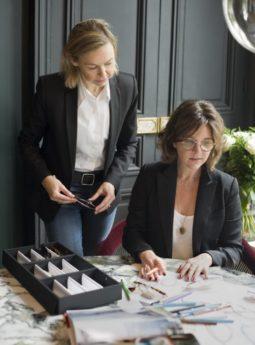 Brillen Partnerschaft - Amélie Morel und Nathalie Blanc