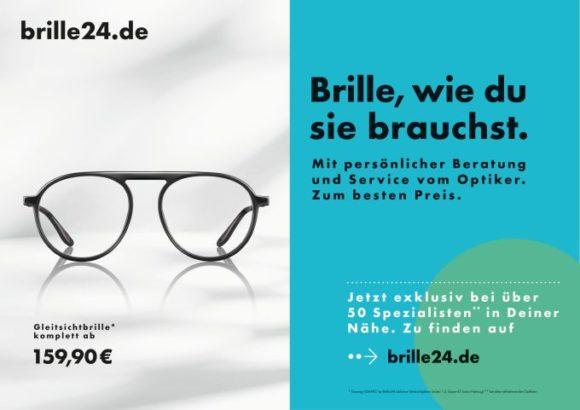Essilor und Brille24 - Drive-to-Store Pilotkampagne - Motiv 1