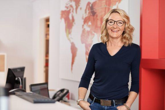 Jonen Augenoptik - Kampagne 2019 - Motiv Claudia Linke