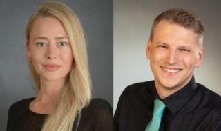 MPG&E - neue Gebietsleiter May und Weckermann