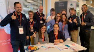 Rupp + Hubrach - Sehtest Aktion in den Lebenshilfe-Werkstätten Bamberg