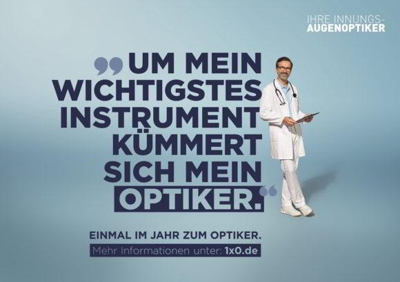 ZVA-Kampagne 2019 gestartet - Motiv Arzt