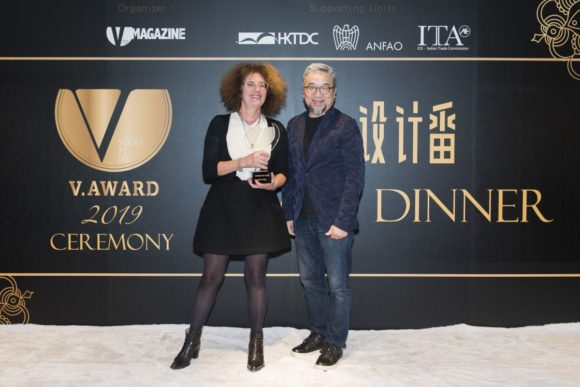 J.F. Rey -Gold V. award 2019 - Preisübergabe