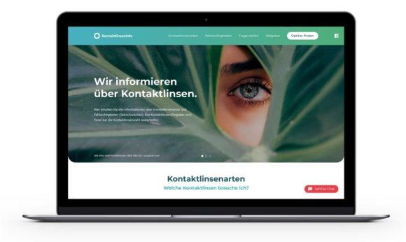 KGS - Spectaris - Kontaktlinsen - Kampagnen-Website