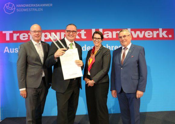 Rottler - Ausbildungspreis 2019 - HWK Südwestfalen