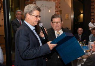 ZVA - Thomas Truckenbrod und Manfred Leo Müller bei der Verabschiedung