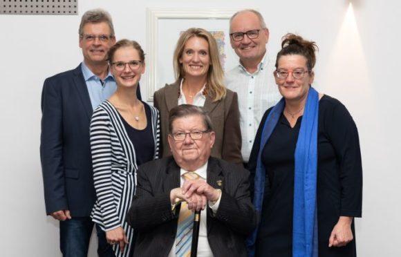 ZVA - Verabschiedung Manfred Leo Müller - mit den Nachfolgern und Töchtern