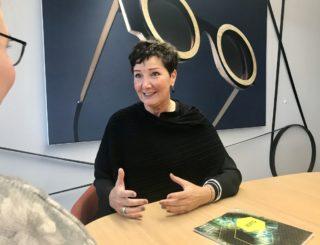 opti - Projektleiterin Bettina Reiter