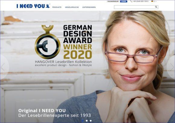 I Need You - website