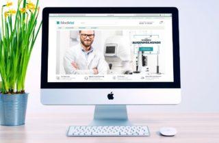 Meridial - Einkaufsplattform für Medizintechnik