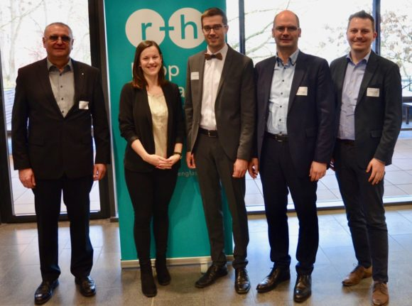 Rupp + Hubrach - Preisverleihung Wissenschaftspreis 2019