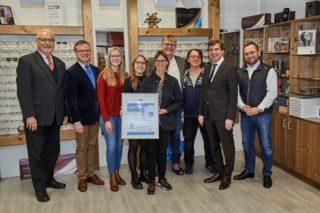 WVAO - Gütesiegel Sehzentrum Ehrenurkunde Wörner