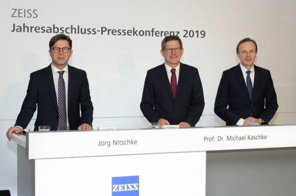 Zeiss Gruppe - Jahresabschluss-Pressekonferenz 2019