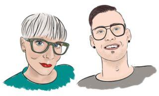 Brillenhelden - Natalie und Franz Rosner