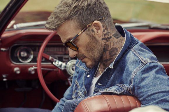 DB eyewear by David Beckham - von Safilo - Kampagnen-Motiv
