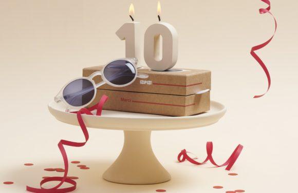 Izipizi - Kooperation mit Merci - 10 Jahre