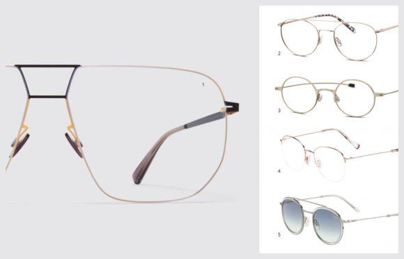 KGS - Brillen-Trends 2020 - 2 Metall schmal