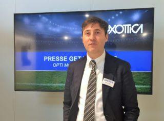 Luxottica - Presse-Gespräch opti 2020 - Andrea Mazzo