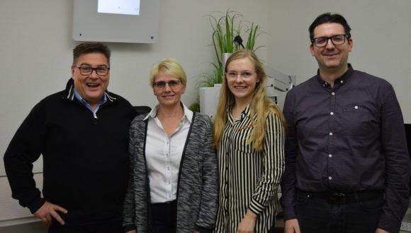 Das Team von Optik Mattern und Augen-Blick-Labor