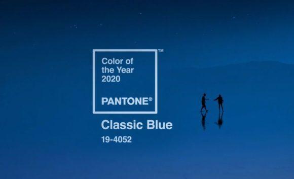 Pantone - Farbe des Jahres 2020 - Classic Blue