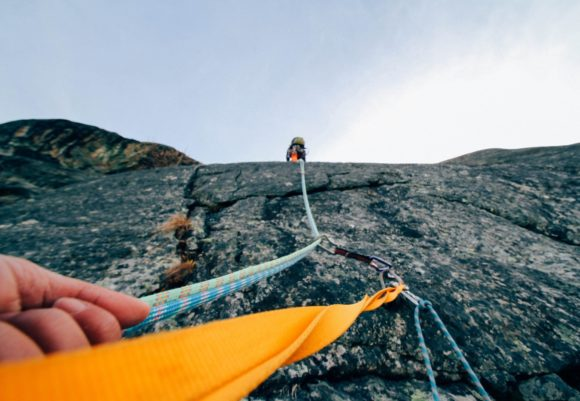 Outdoor Sport Klettern