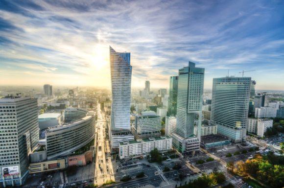 Warschau in Polen - Skyline