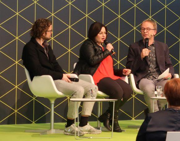 eyebizz - opti-Forum 2020 - Start-ups Augenoptik - Kilian Wagner - Hülya Yig-Özgen - Jürgen Bräunlein
