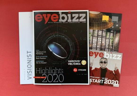 Ausgabe 1.2020 mit Beilagen und Messeguide zur opti 2020