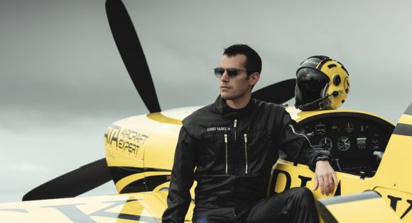 Airart Eyewear - Louis Vanel - Kunstflug-Weltmeister 2019