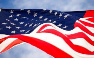 USA - Flagge - Augenoptik