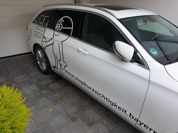 Robert Fetzer - Auto-Werbung gegen Myopie
