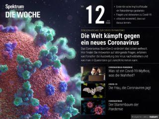 Spektrum der Wissenschaft Woche 12 Covid-19