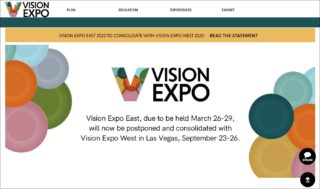 Vision Expo East - website statement