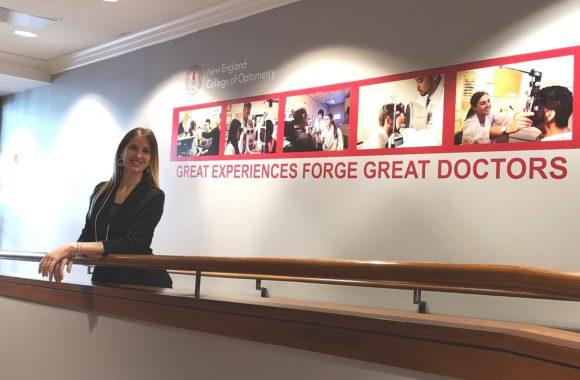 Eleonora Fatigati am New England College of Optometry Boston